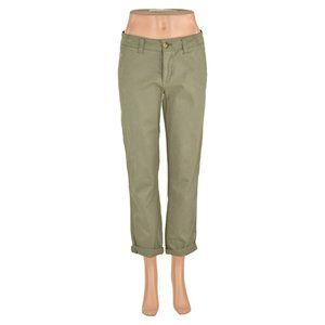 American Eagle Outfitters Cropped 4 Green